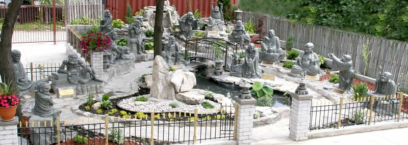 18 Arhat Garden